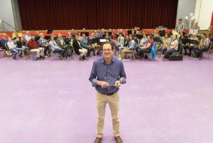 Michel Hectors voor het @the movies-orkest.